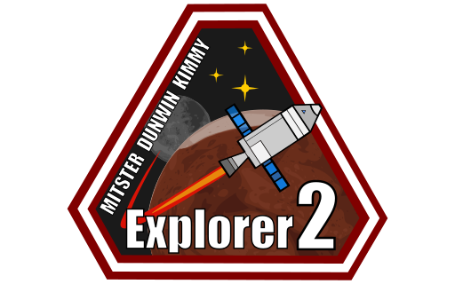 Kerbal At The KSC While Dunwin And Kimmy Are Chosen As Brightest Of New Recruits Everyone Is Very Excited Mission Patches Too
